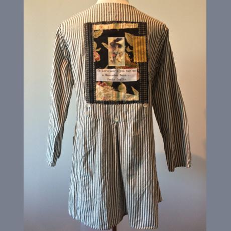 Back of French Stripe Jacket Tunic