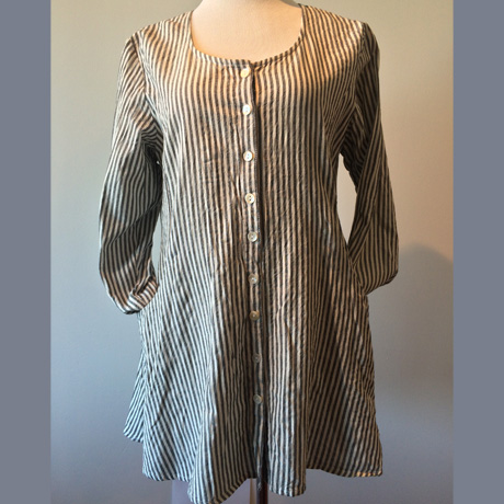 French Stripe Jacket Tunic